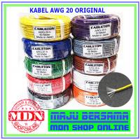 Kabel Awg-20 Original per 1 Rol 50 Meter