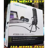 Mic Condenser Usb Audio Technica At2020Usb+ At2020 Usb+ Original