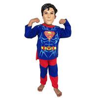Superhero Baju Anak Kostum Topeng Superhero Superman