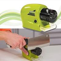Alat Pengasah Pisau Dapur Gunting Asahan Swift Sharp Electric