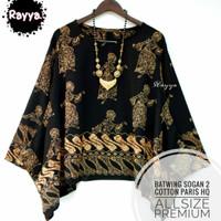 Batwing Top Batik Solo Premium Quality