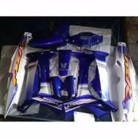 cover body full halus yamaha f1zr putih biru + striping