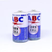 ABC Battery Biru Sedang (R14S/C) - ( 1 Set - 2 Pcs )