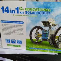 Mainan Robot Tenaga Matahari 14 Macam Perubahan - Mainan Edukasi Anak
