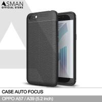 Auto Focus OPPO A57 (5.2) | Softcase Premium - Hitam