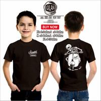 Kaos Baju Anak SCOOTER GARAGE MOTOR VESPA Kaos Anak Otomotif - Gilan