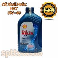 Oli Shell Helix HX7 5W - 40 SN Plus / Fully Synthetic Oil Motor
