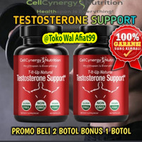Paket 2 Botol Suplemen Energy CellCynergy Testosterone Suport Original