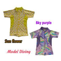 Baju Renang Diving Bayi usia 6 - 18 bulan