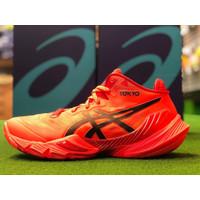 Sepatu Voli Voly Volley Asics Metarise Tokyo Sunrise Red Limited ORI