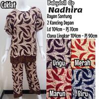 Setelan Baju Tidur Batik Celana Panjang