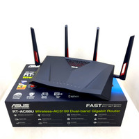 ASUS Router RT-AC88U AC-3100 Dual Band Wi Fi Gigabit Router 802.11ac