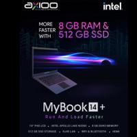 NOTEBOOK AXIOO MYBOOK 14+ N3350/RAM8GB/SSD512GB DOS LAYAR 14