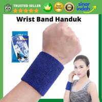 Wrist Band Wristband Tenis Badminton Basket Running Gym Handuk Tangan