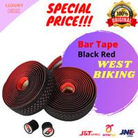 West Biking Bar Tape Road Bike Dropbar Wrap B2360 BK Red