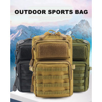 Waist Bag 3P Tactical Camo Molle Belt Pouch Canvas Fanny Pack Outdoor