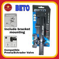 BETO CLD-039PG Pompa Mini Sepeda dengan Bracket
