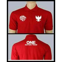 Kaos Polo Shirt Baju Kerah Distro GARUDA iNDONESiA timnas polos custom