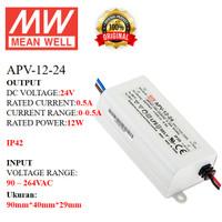MEANWELL Power Supply APV-12-24 APV 12 24 APV1224 Ballast 24v Indoor