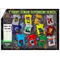 Kaos anak laki SUPER HERO OSHKOSH usia 2-10th/ baju kaos anak branded
