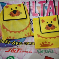 TAS RANSEL ANIMAL SPUNBOND Souvenir ulang tahun anak goodie Bag