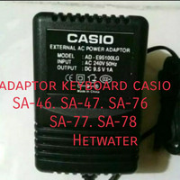 adaptor tipe-tipe keyboard-Casio sa46 sa47 sa76 sa77 sa78