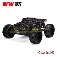 ARRMA NOTORIOUS V5 6S 4WD BLX 1/8 STUNT TRUCK RTR (BLACK)