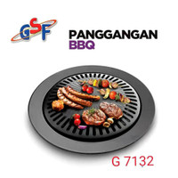 Barbeque Grill Pan BBQ Non stick BMW 32 cm