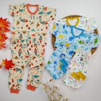Baju Anak Bayi Setelan Lengan Pendek Celana Panjang Little Q SNI