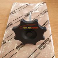 Baut gantungan Ban serep warna hitam Agya ayla original 51900-BZ030