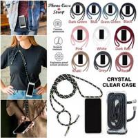 CASE CASING Anticrack TRANSPARANT TALI Iphone 7 plus X XS 11 Pro Max