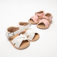 Bebiso Sepatu Bayi Prewalker Sandals Shoes X Model for Girl