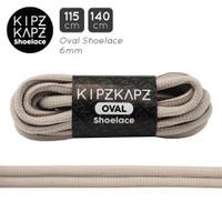 GREY 115cm 140cm Oval Shoelace Tali Sepatu Olahraga Abu-Abu KipzKapz