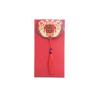 Angpao Wedding Pernikahan Nikah Double Happiness Merah Tassel Sangjit