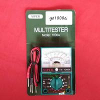 Multitester Multimeter Avometer Analog Manual VIPER 1000A Multifungsi