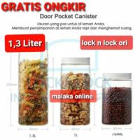 lock n lock square door pocket canister 3 set 1.3Liter 1.3 L