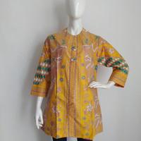 blouse batik wanita motif sinaran/atasan batik wanita/baju batik