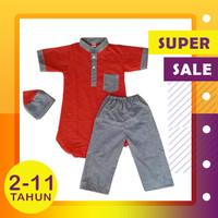 Baju Setelan Koko Turki Anak / Baju Koko Turki Anak 0-4 Tahun