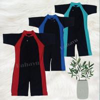 Baju Renang Anak-TK - SD. Diving Anak-Tk-SD. - list merah, M
