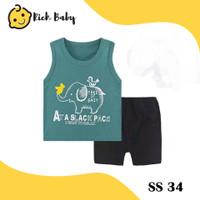 SS34 / Baju Singlet Anak Import / Setelan Singlet Anak Laki-laki