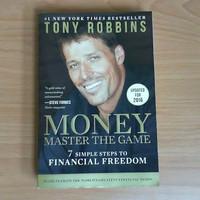 Buku Money Master The game Tony Robbins Anthony