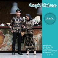 Baju Kebaya Modern Batik Couple Atasan Wanita Muslim Pasangan Pesta