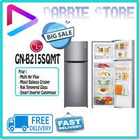 LG GN-B215SQMT KULKAS 2 PINTU INVERTER GNB215SQMT GNB215 215SQMT