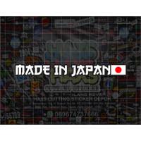 Cutting Sticker Made In Jepang Untuk Motor Ukuran 12 Cm