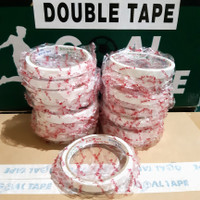 "DOUBLE TAPE KERTAS MURAH 1/2"" (12MM X 8MTR) TOP QUALITY"
