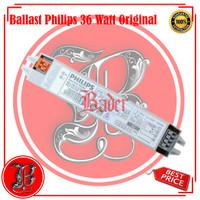 Ballast philips 36 watt original untuk lampu aquazonic 39 watt