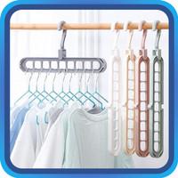Raja - Gantungan Baju / Magic Hanger 9 in 1/ Hanger / Multifungsi / Ma
