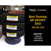 Voucher Ban Dunlop SP SPORT 300 (185/65 R15) + GRATIS SERVIS