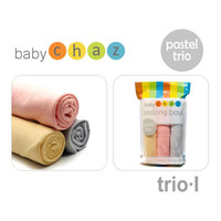 BABY CHAZ BEDONG PASTEL TRIO ISI 3 PCS / WARNA RANDOM
