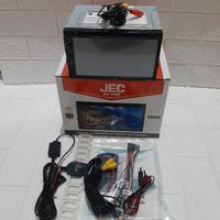 Doubledin 6,95 +Kamera Parkir +Antena Tv Mobil Honda Brio dan Mobilio